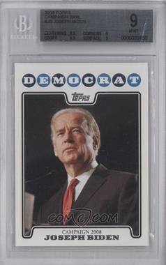 2008 Topps Campaign 2008 #C08-JB - Joseph Biden [BGS9]