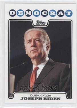 2008 Topps Campaign 2008 #C08-JB - Joseph Biden