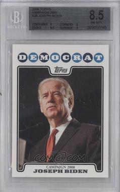 2008 Topps Campaign 2008 #C08-JB - Joseph Biden [BGS8.5]