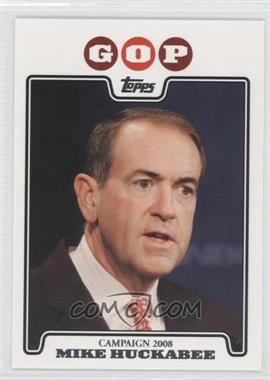 2008 Topps Campaign 2008 #C08-MH - Mike Huckabee