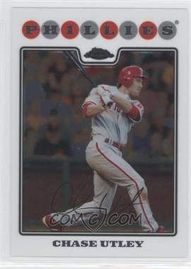 2008 Topps Chrome - [Base] #123 - Chase Utley