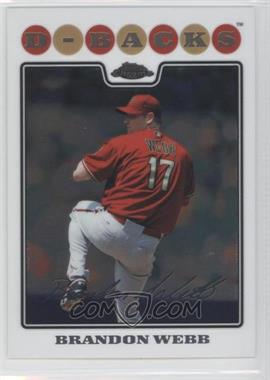 2008 Topps Chrome - [Base] #41 - Brandon Webb
