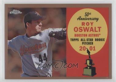 2008 Topps Chrome - Topps All-Rookie Team - Copper Refractor #ARC17 - Roy Oswalt /100