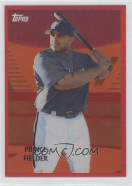 2008 Topps Chrome - Trading Card History - Red Refractor #TCHC4 - Prince Fielder /25