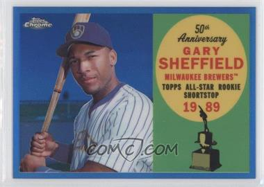 2008 Topps Chrome Topps All-Rookie Team Blue Refractor #ARC1 - Gary Sheffield /200