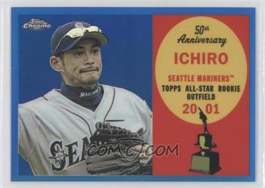 2008 Topps Chrome Topps All-Rookie Team Blue Refractor #ARC11 - Ichiro Suzuki /200