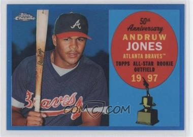 2008 Topps Chrome Topps All-Rookie Team Blue Refractor #ARC7 - Andruw Jones /200