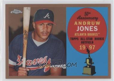 2008 Topps Chrome Topps All-Rookie Team Copper Refractor #ARC7 - Andruw Jones /100