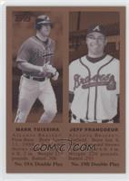 Mark Teixeira, Jeff Francoeur /100