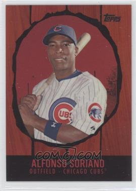 2008 Topps Chrome Trading Card History Red Refractor #TCHC18 - Alfonso Soriano /25