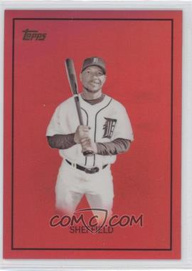 2008 Topps Chrome Trading Card History Red Refractor #TCHC33 - Gary Sheffield /25