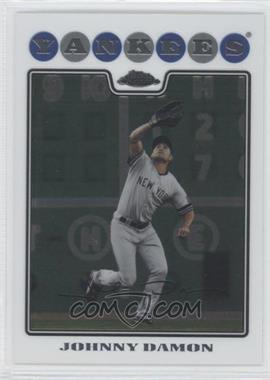 2008 Topps Chrome #106 - Johnny Damon