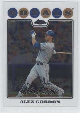 2008 Topps Chrome #107 - Alex Gordon