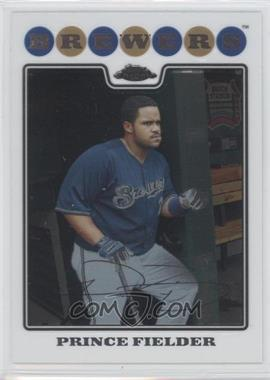 2008 Topps Chrome #120 - Prince Fielder