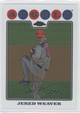 2008 Topps Chrome #96 - Jered Weaver