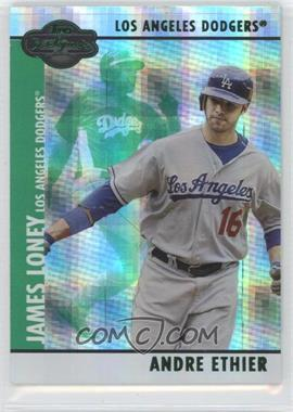 2008 Topps Co-Signers - [Base] - Hyper Plaid Green #041.2 - Andre Ethier /25