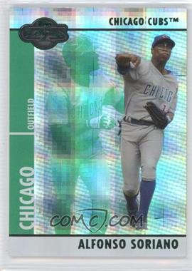 2008 Topps Co-Signers - [Base] - Hyper Plaid Green #062 - Alfonso Soriano /25