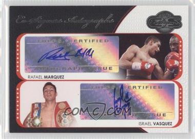2008 Topps Co-Signers Co-Signers Autographs #CS-MV - Rafael Marquez, Israel Vasquez