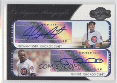2008 Topps Co-Signers Co-Signers Autographs #CS-SP - Geovany Soto, Felix Pie