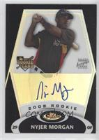 Rookie Autograph - Nyjer Morgan /99