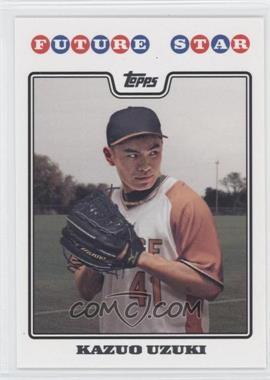2008 Topps Future Star #FS1 - Kazuo Uzuki