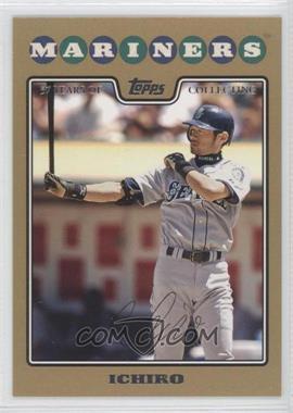 2008 Topps Gold Border #320 - Ichiro Suzuki /2008