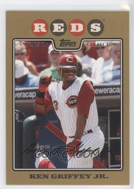 2008 Topps Gold Border #580 - Ken Griffey Jr. /2008