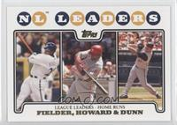 Prince Fielder, Ryan Howard, Adam Dunn