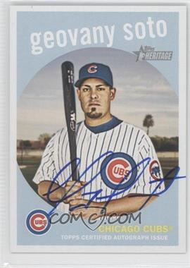 2008 Topps Heritage - Real One Certified Autographs #ROA-GS - Geovany Soto
