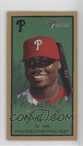 2008 Topps Heritage - T205 Mini #HTCP10 - Ryan Howard