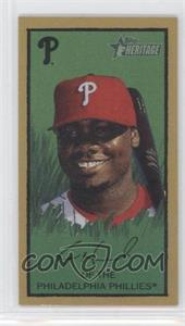 2008 Topps Heritage [???] #HTCP10 - Ryan Howard
