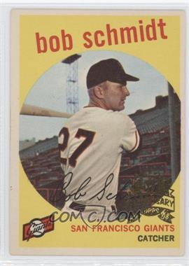 2008 Topps Heritage 1959 Topps 50th Anniversary Buybacks #109 - Bob Schmidt