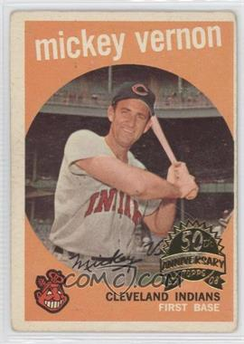 2008 Topps Heritage 1959 Topps 50th Anniversary Buybacks #115 - Mickey Vernon [Good to VG‑EX]