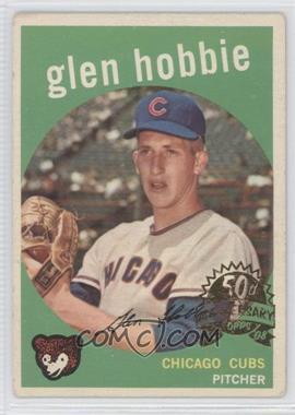 2008 Topps Heritage 1959 Topps 50th Anniversary Buybacks #334 - Glen Hobbie