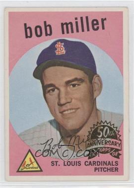 2008 Topps Heritage 1959 Topps 50th Anniversary Buybacks #379 - Bob Miller