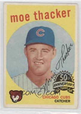 2008 Topps Heritage 1959 Topps 50th Anniversary Buybacks #474 - Moe Thacker
