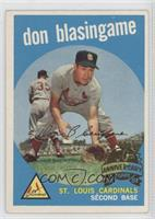 Don Blasingame [Good to VG‑EX]