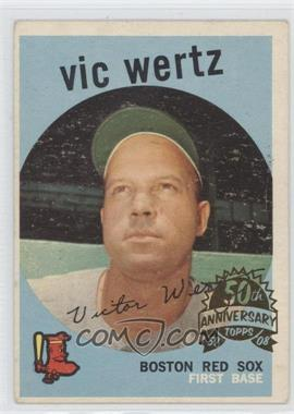 2008 Topps Heritage 1959 Topps 50th Anniversary Buybacks #500 - Vic Wertz