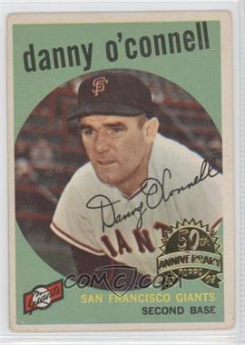 2008 Topps Heritage 1959 Topps 50th Anniversary Buybacks #87 - Danny O'Connell
