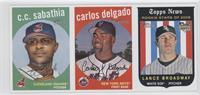 C.C. Sabathia, Carlos Delgado, Lance Broadway