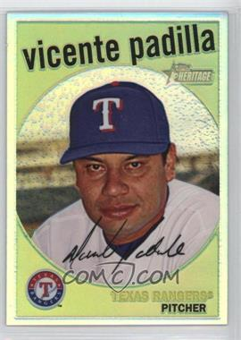 2008 Topps Heritage Chrome Refractor #C235 - Vicente Padilla /559