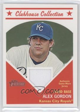 2008 Topps Heritage Clubhouse Collection Relic #HCCAG - Alex Gordon