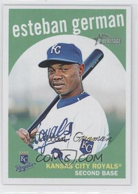 2008 Topps Heritage High Number - [Base] #628 - Esteban German