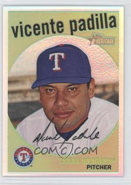2008 Topps Heritage High Number - Chrome - Refractor #C235 - Vicente Padilla /559