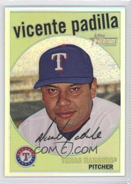 2008 Topps Heritage High Number Chrome Refractor #C235 - Vicente Padilla /559