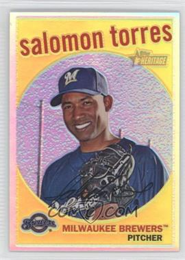 2008 Topps Heritage High Number Chrome Refractor #C279 - Salomon Torres /559
