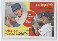 Dustin Pedroia, Bob Allison