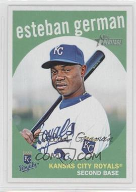 2008 Topps Heritage High Number #628 - Esteban German