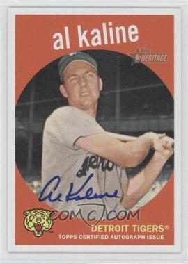 2008 Topps Heritage Real One Certified Autographs [Autographed] #ROA-AK - Al Kaline