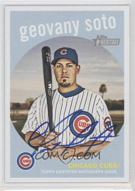 2008 Topps Heritage Real One Certified Autographs [Autographed] #ROA-GS - Geovany Soto